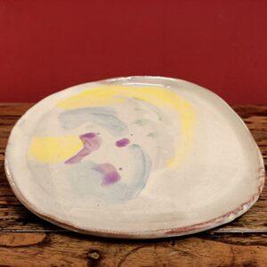 Big slipware plate.
