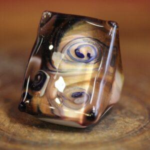 Murano glass ring.