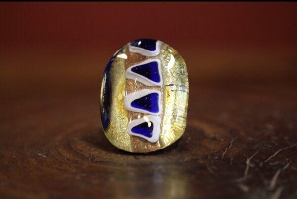 Murano glass ring 2.