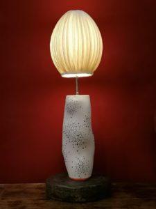 LAMP BY ERIC HIBELOT & PAPIER A ÊTRES